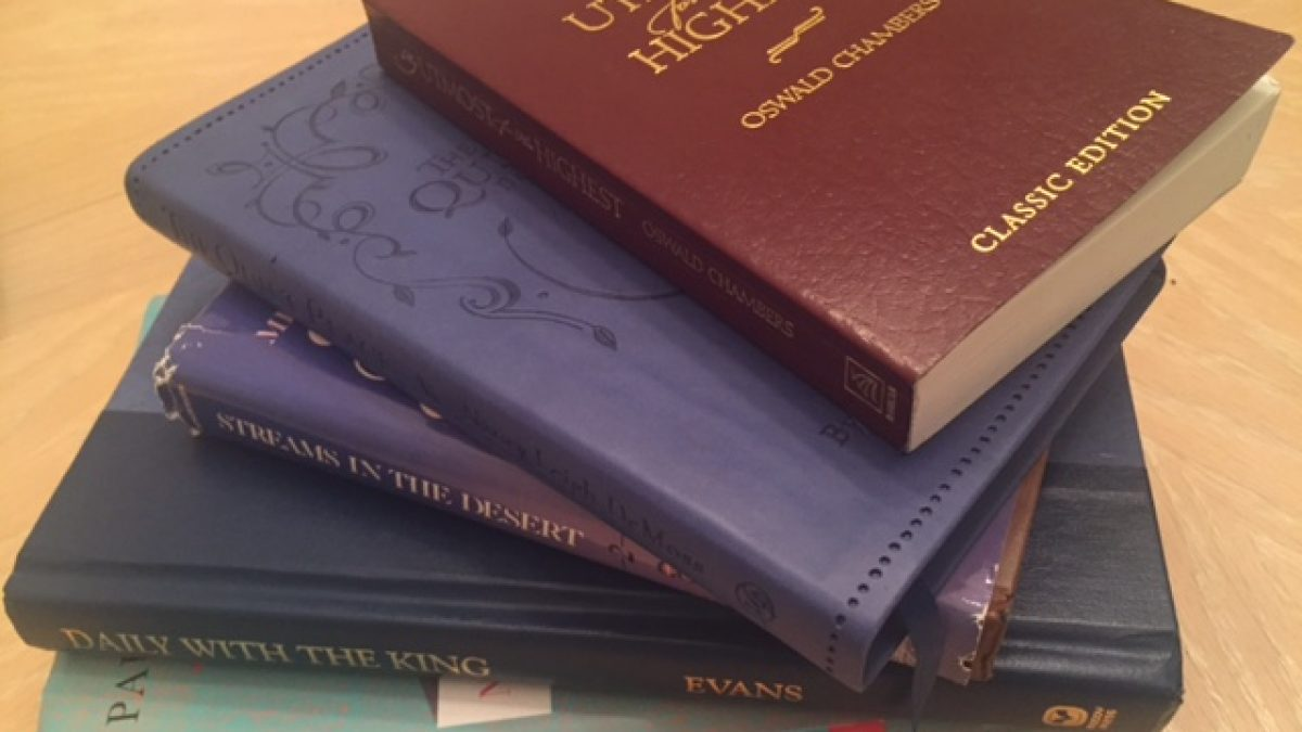 My Favorite Devotionals